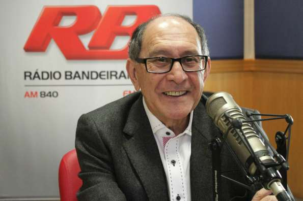 José Silvério é locutor esportivo há 50 anos