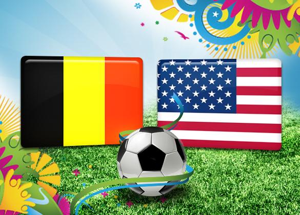 Bélgica-x-EUA