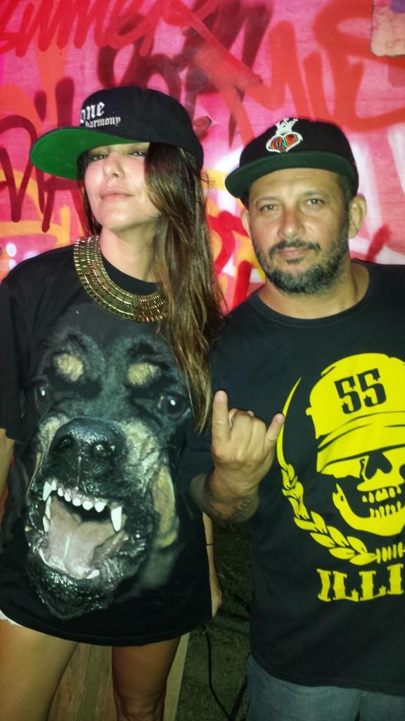 Diana Bouth e DJ Saddam