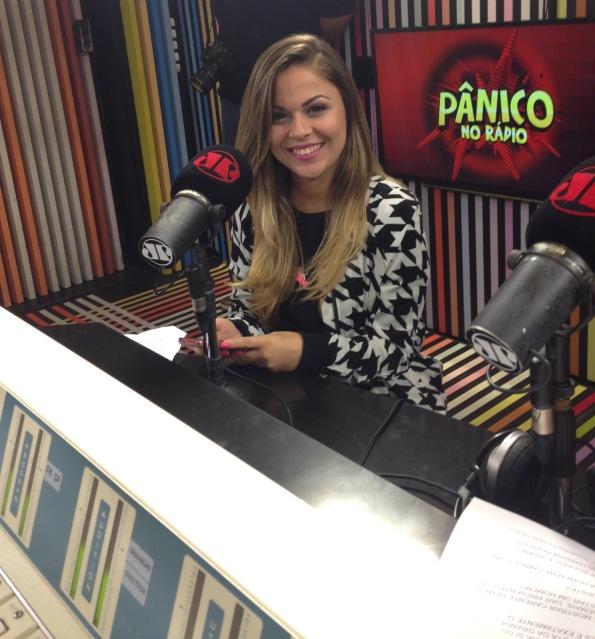 Nanda Loren no Pânico na Rádio