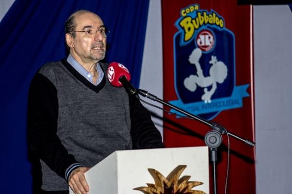 Wanderley Nogueira no Congresso Tecnico da Copa Bubbaloo Jovem Pan
