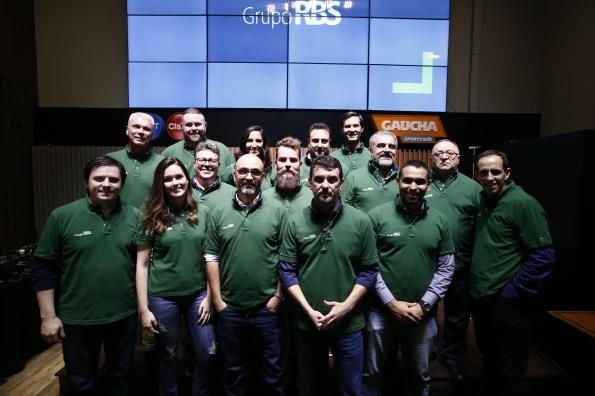 Equipe do Grupo RBS que vai à Rússia em evento de lançamento da cobertura_Crédito_André Ávila