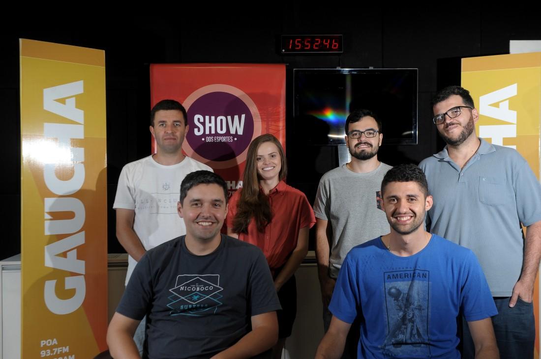 Equipe do Show dos Esportes_Crédito_Lucas Amorelli