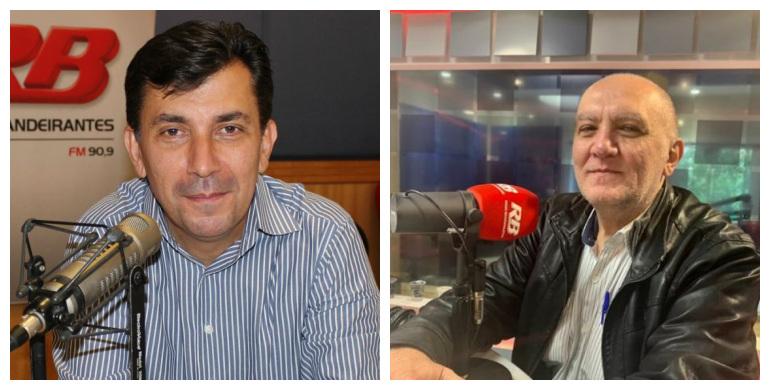 Ronald Gimenez e Claudio Zaidan